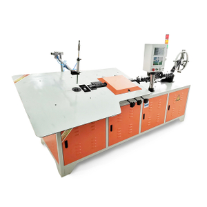 Cheap price CNC 2D Automatic S S Wire Bending And Cutting Machine