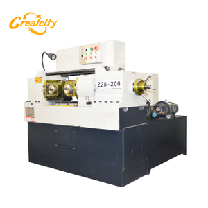 Greatcity Trade assurance quality high speed Z28-200 model 5-65mm two axis steel bar thread rolling machine