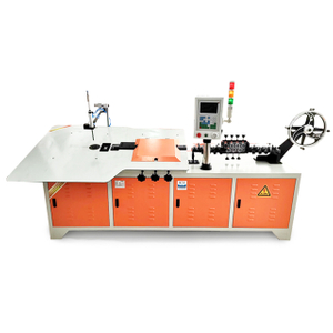New Product PLC control Automatic Desktop 2D Steel Wire Bending Machine