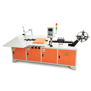 Greatcity brand 2d semi Automatic Cnc Metal Steel Wire Bending Forming Machine 2mm-6mm