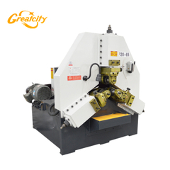 High precision required three rollers radial and axial feeding automatic thread rolling machine