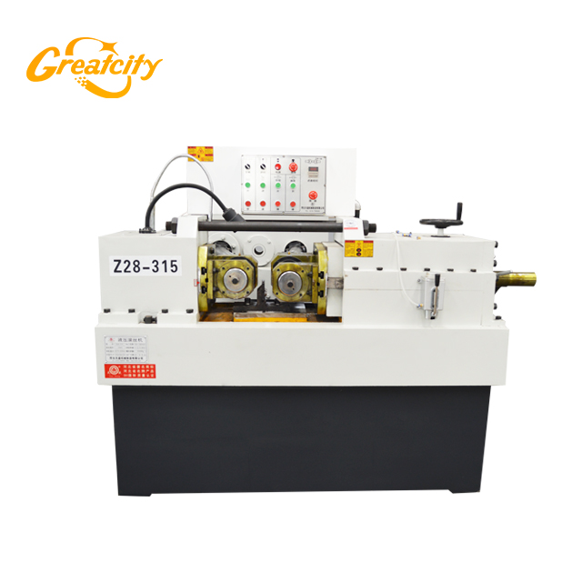 High productivity Bolt and round bar thread_rolling_machine factory price