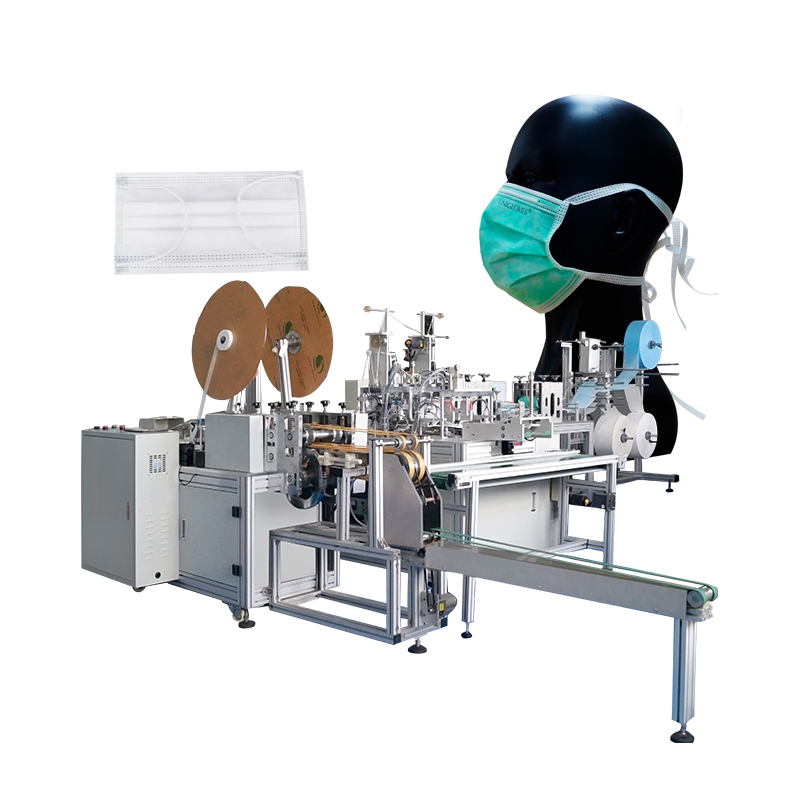Full Automated Non Woven Disposable inner earloop face Mask Making Machine