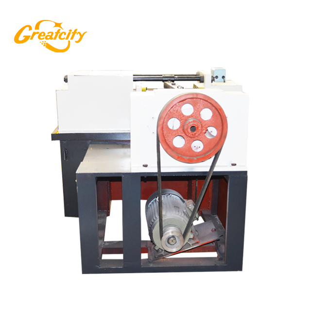 m6 thread rolling machine,steel rod threading machine from greatcity machinery