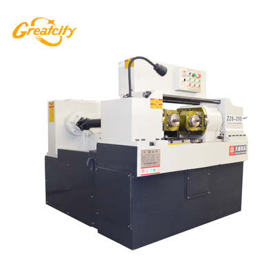 Steel rod rolling machine thread /automatic threading rolling screw making machine
