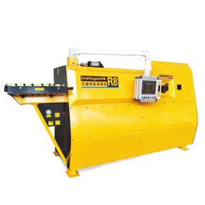 High evaluation double direction Processing 5-12mm R8 CNC rebar stirrup bending machine automatic