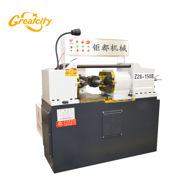 CE certificated high speed rebar thread rolling machine price