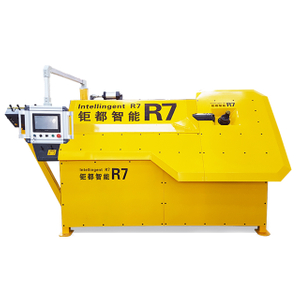 Greatcity Single And Double Wire automatic stirrup cut bending machine for 4 8mm / Automatic Rebar Stirrup Bending Machine