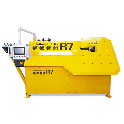 R7 automatic rebar bending machines/automatic stirrup rebar bending machine / rebar cutting and bending machines