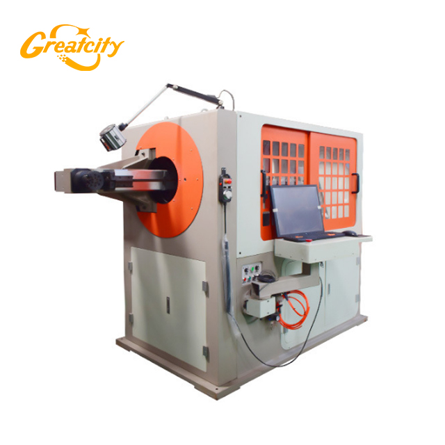 China Greatcity professional supplier automatic cnc wire bending machine 3d