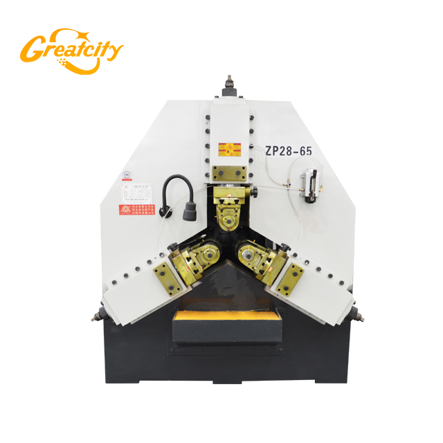 China best quality rebar flat thread rolling machine Z28-65