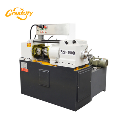 Thread Rolling Rod Automatic Screw Thread Rolling Machine Bar Parallel Rebar Threading Machine