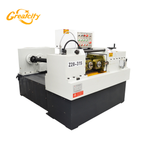 EU verified automatic hydraulic high precision two rollers nut bolt making thread rolling machine