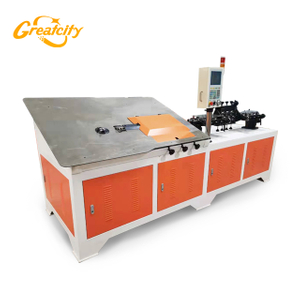 High Efficiency Automatic Reinforcing 2d Cnc Wire Bending Machine 4-12mm