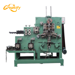 Automatic iron wire chain production line making machine