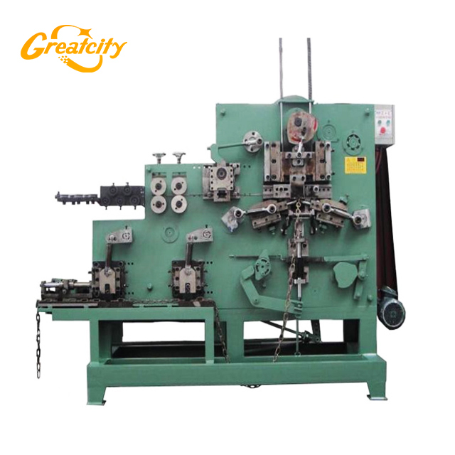 Heavy Duty automatic Wire Chain Making Machine Manufacturer