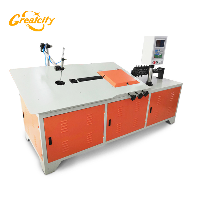 Greatcity 2-6mm Multi Function CNC Automatic 2D Wire Bending Machine