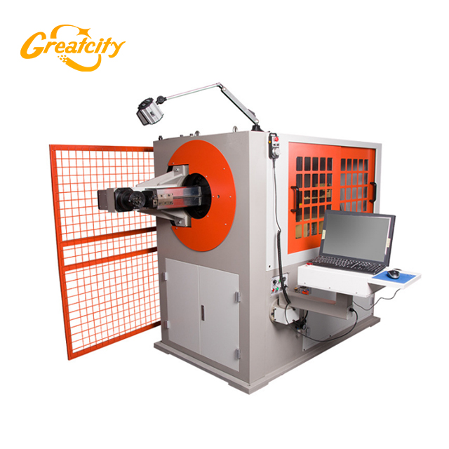 China good price architecture 3D 2D automatic cnc metal steel wire bending forming machine