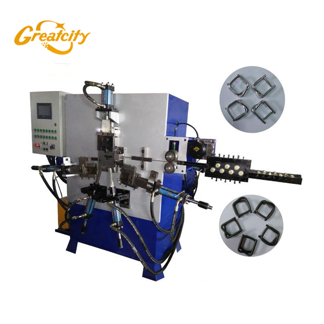 Greatcity brand 2D automatic buckle wire bending machine price