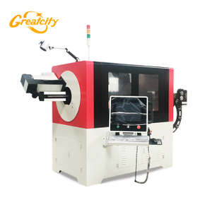 Automatic High Precision CNC 3D Steel Wire forming Bending Machine