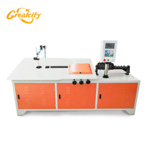 Greatcity brand 2d Automatic cnc automatic ss wire bending machine4-6mm