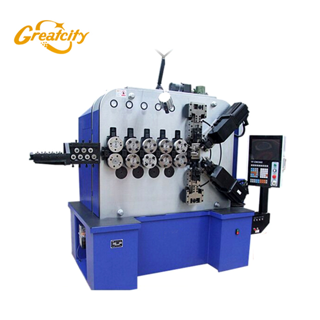 High Precision Diameter 0.06mm-0.5mm Cnc Spring Making Machine