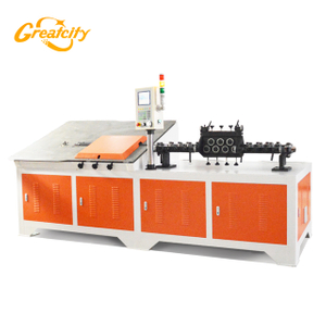 Factory good price assured quality 5 axis CNC 2d wire bending machine/flat bar forming machine