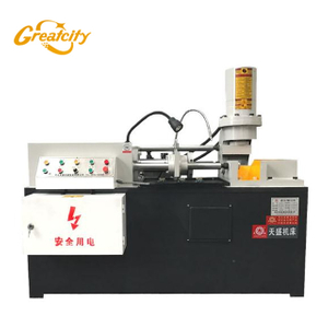 Best quality automatic Round iron diameter shrinking machine supplier