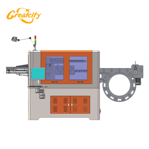 Customizable 3d automatic wire bending machine bending pipe machine price