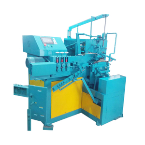 Semi-auto clothes wire hanger making machine for laundry