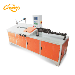 Automatic 2d cnc steel wire bending machine/wire forming machine