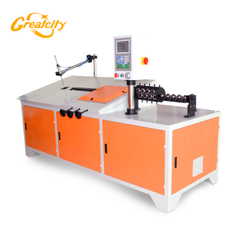 HOT SALE! Chinese manufacturer sell 10mm automatic steel wire bending machine