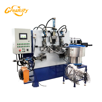 wire bucket handle making forming machine