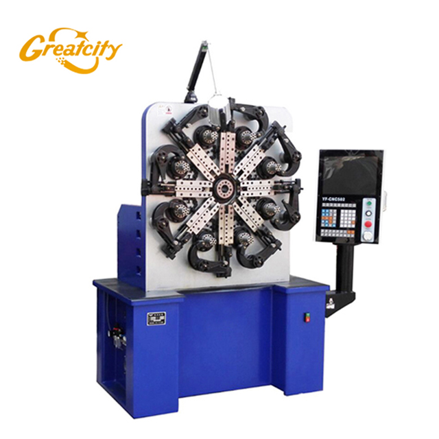 High Precision Automatic Cnc compression spring making machine