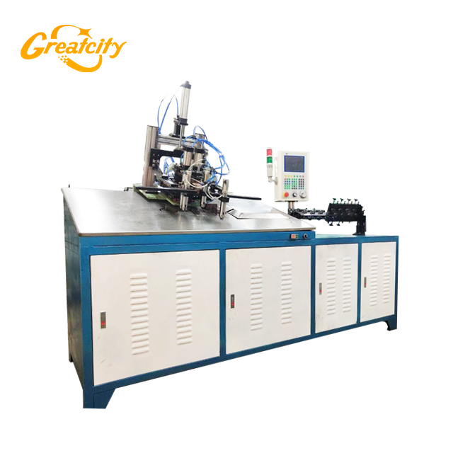 Fully-automatic 2D CNC Control Iron Wire forming Bending Machine manufacturers