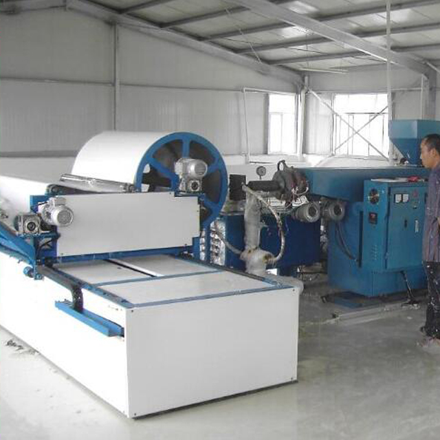 Durable quality Single line fully automatic meltblown nonwoven fabric making machine with auto cutting unit