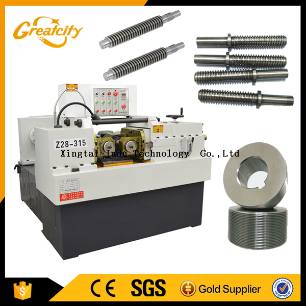 High quality hydraulic screw rolling machine for thread with CE certificate and good service
