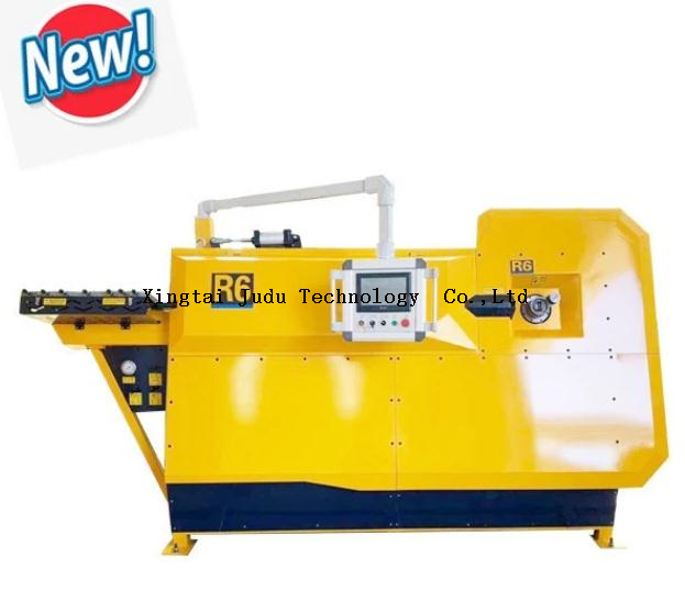 Factory Price Automatic 4-10mm Reinforcing R6 Cnc Rebar Stirrup Bending Machine
